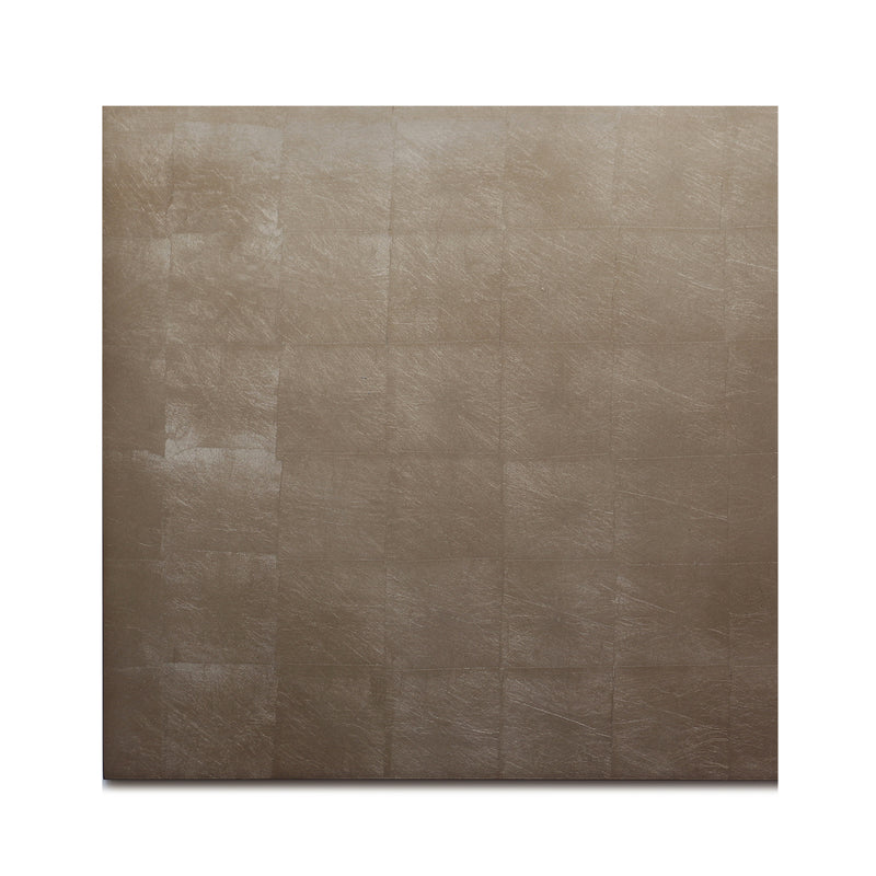 Silver Leaf Chic Matte Placemat Taupe - Posh Trading Company  - Interior furnishings london