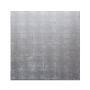 Silver Leaf Matte Chic Placemat Silver - Posh Trading Company  - Interior furnishings london