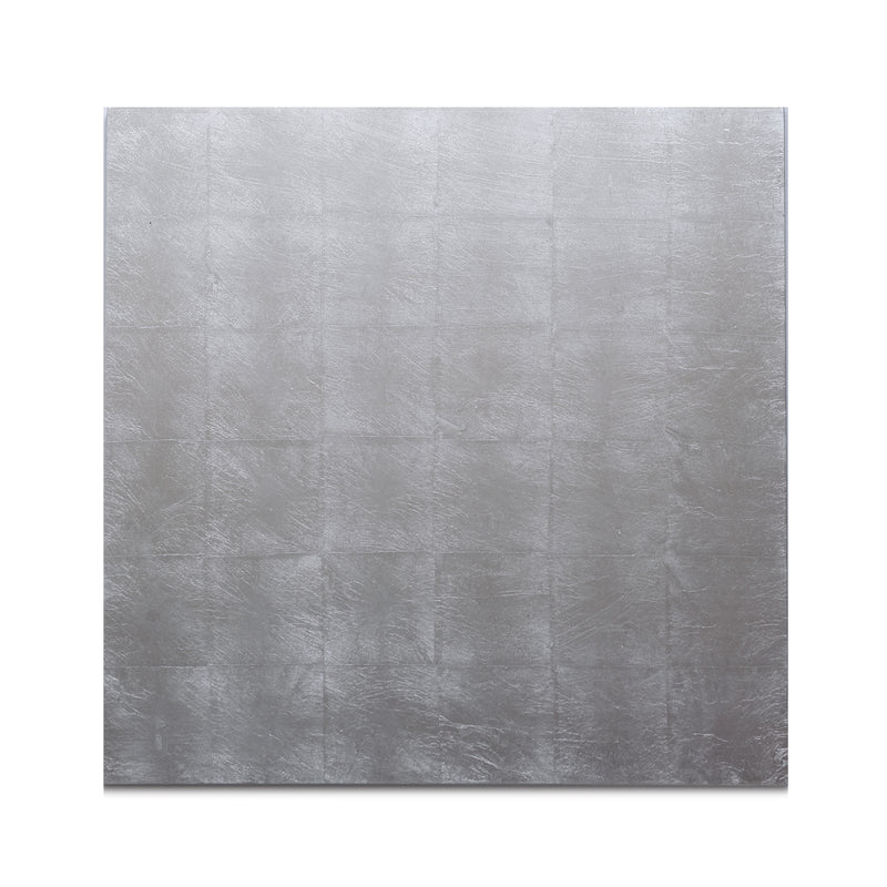 Silver Leaf Matte Chic Placemat Silver