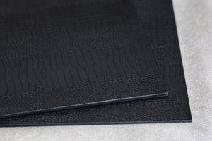 Placemat Python Black - Posh Trading Company  - Interior furnishings london