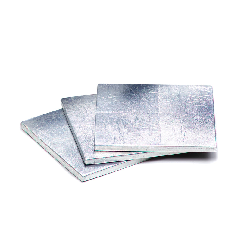 Silver Leaf Coaster Silver - Posh Trading Company  - Interior furnishings london