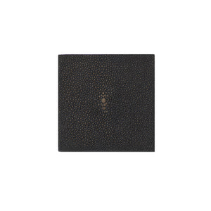 Coaster Faux Shagreen Chocolate - Posh Trading Company  - Interior furnishings london