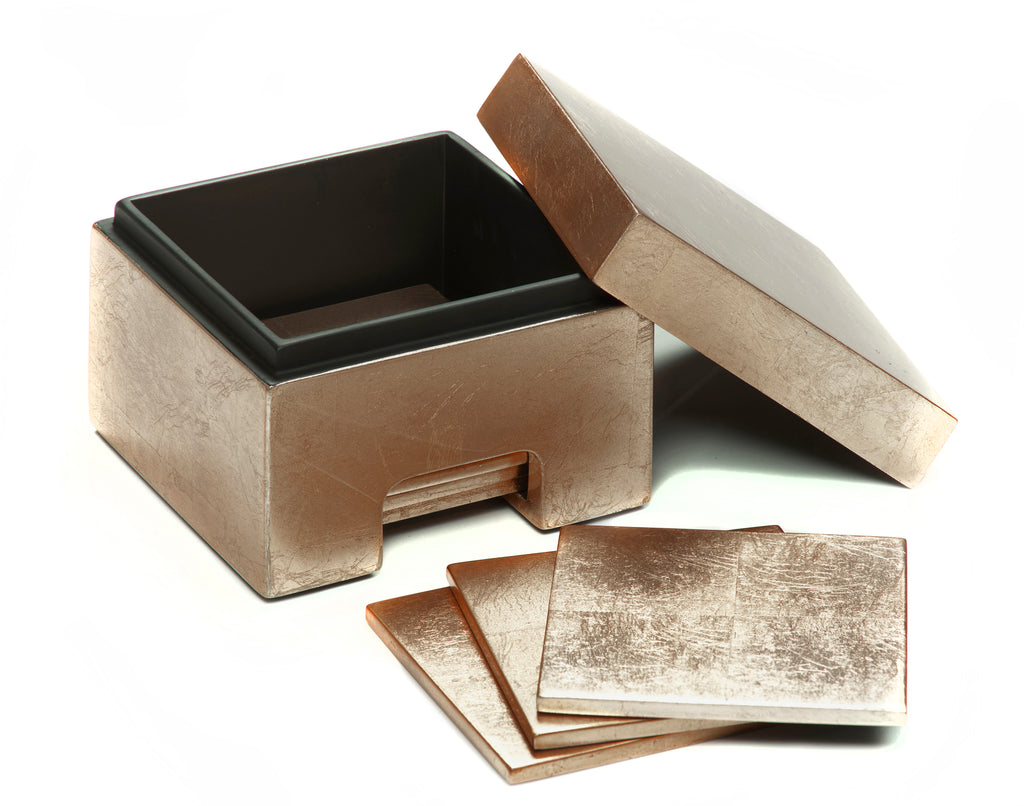 Coastbox Silver Leaf Taupe - Posh Trading Company  - Interior furnishings london