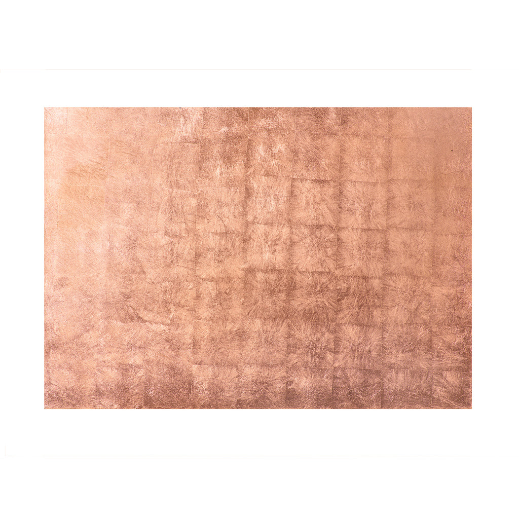 Silver Leaf Serving Mat / Grand Placemat Rose Gold - Posh Trading Company  - Interior furnishings london