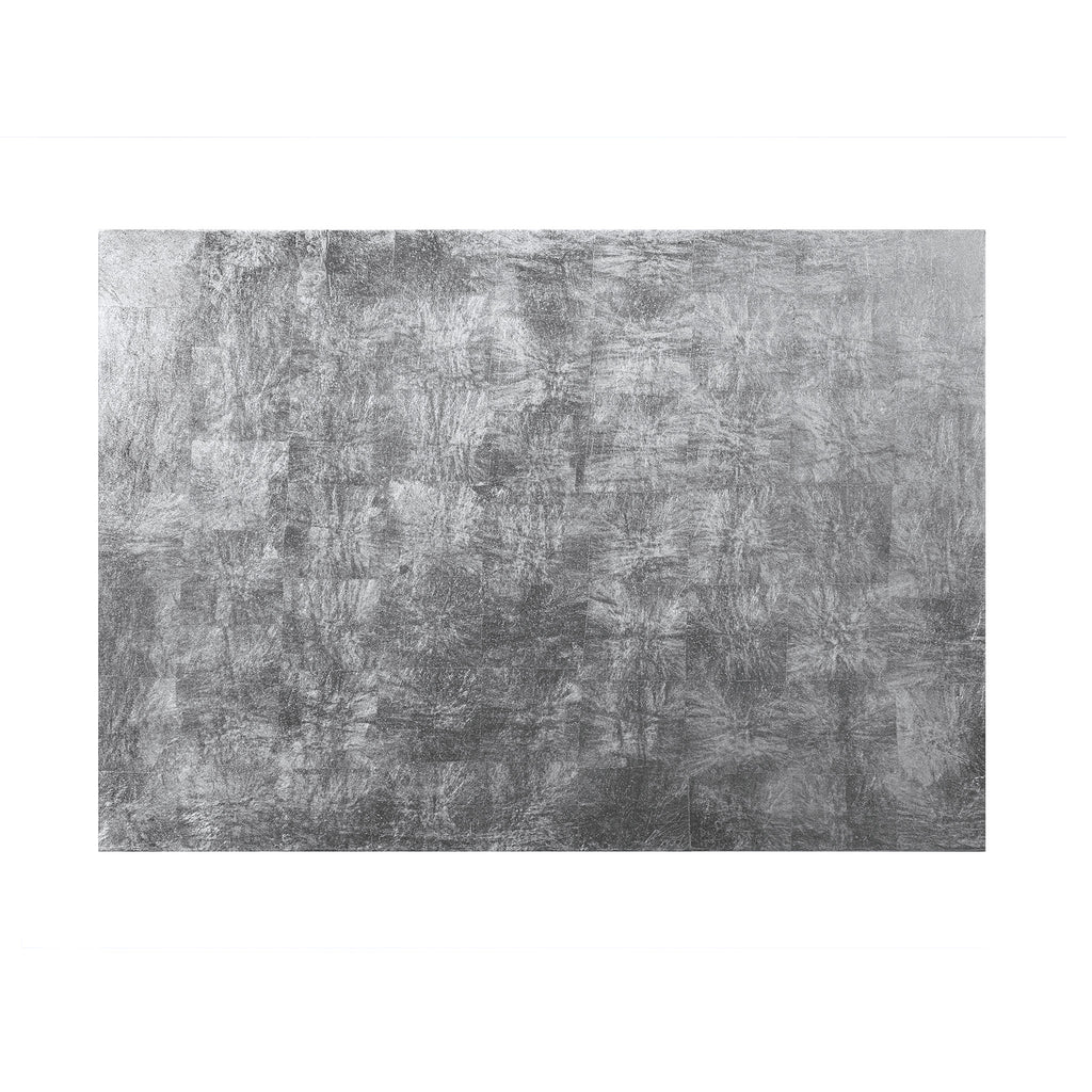 Silver Leaf Serving Mat / Grand Placemat Silver - Posh Trading Company  - Interior furnishings london