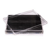 Servebox Clear Python Black - Posh Trading Company  - Interior furnishings london