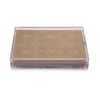 Servebox Clear Shagreen Natural - Posh Trading Company  - Interior furnishings london