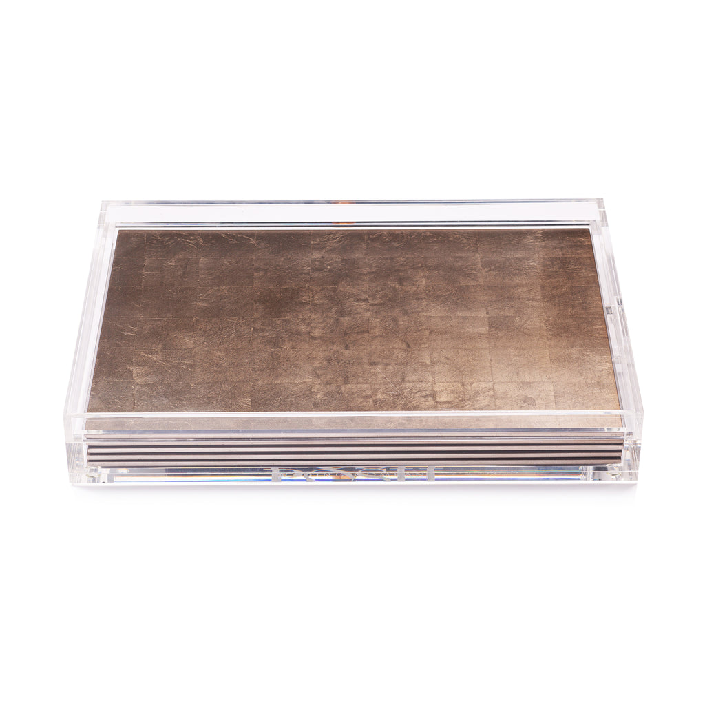 Servebox Silver Leaf Taupe - Posh Trading Company  - Interior furnishings london