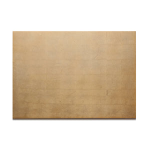 Silver Leaf Chic Matte Serving Mat/Grand Placemat Gold