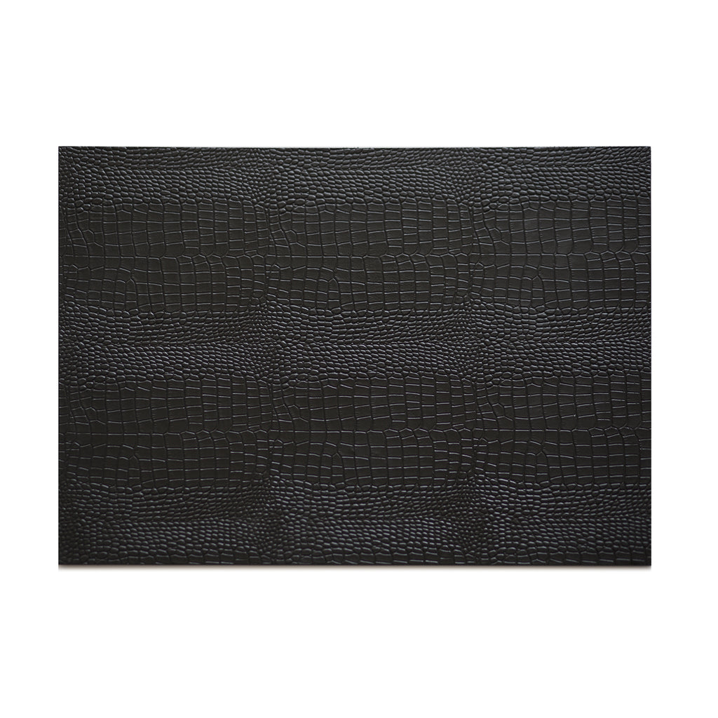 Serving Mat/Grand Placemat Python Black - Posh Trading Company  - Interior furnishings london