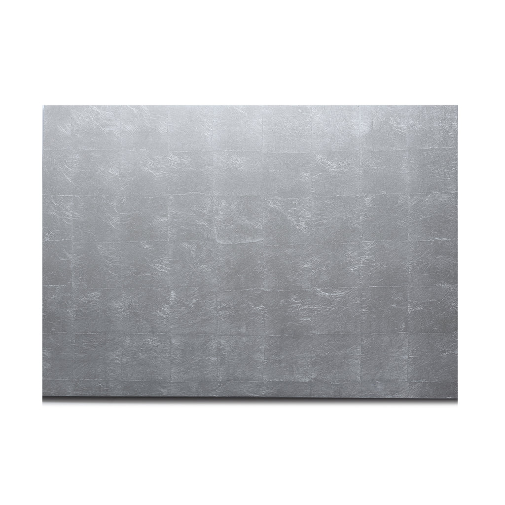 Silver Leaf Matte Chic Serving Mat/Grand Placemat Silver - Posh Trading Company  - Interior furnishings london