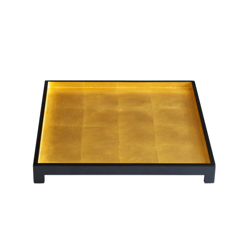 The London Tray in Gold Leaf Square - Posh Trading Company Trays - Interior furnishings london