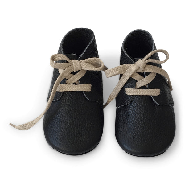 Mokkasiner - Black Booties Baby Sko
