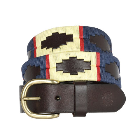 Italian Leather Polo Belt
