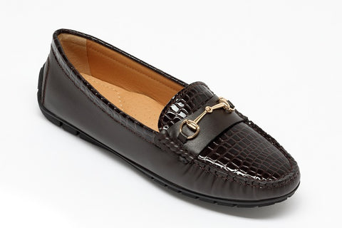 Mock Croc Snaffle Loafer