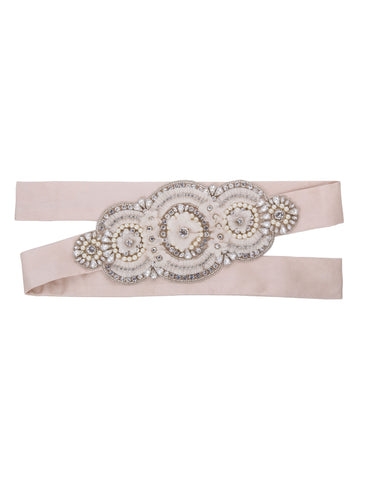 Bridget silk sash belt