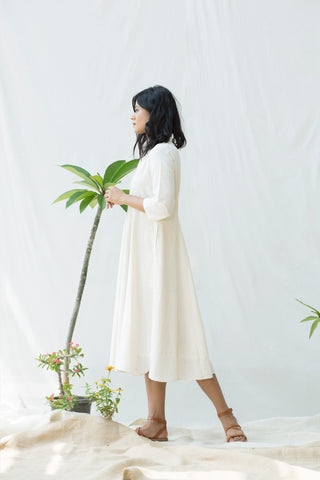Patch Flare Dress