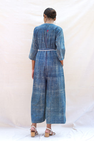 Loose Jumpsuit (Deep indigo)