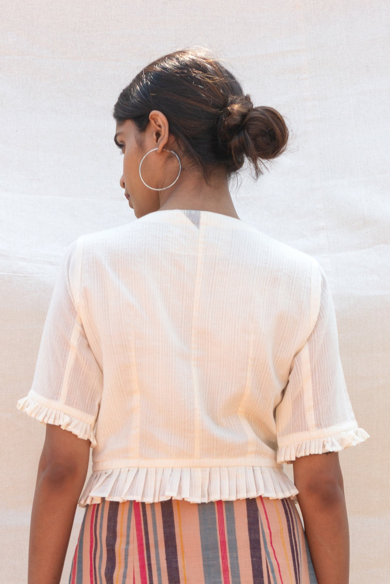 Summer Ruffle Blouse (Kora)