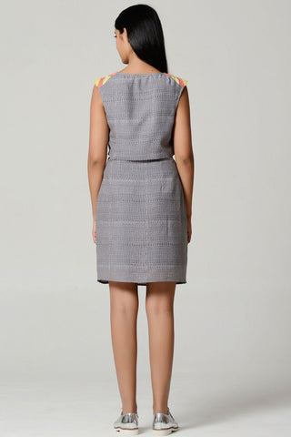 Split Shift Dress