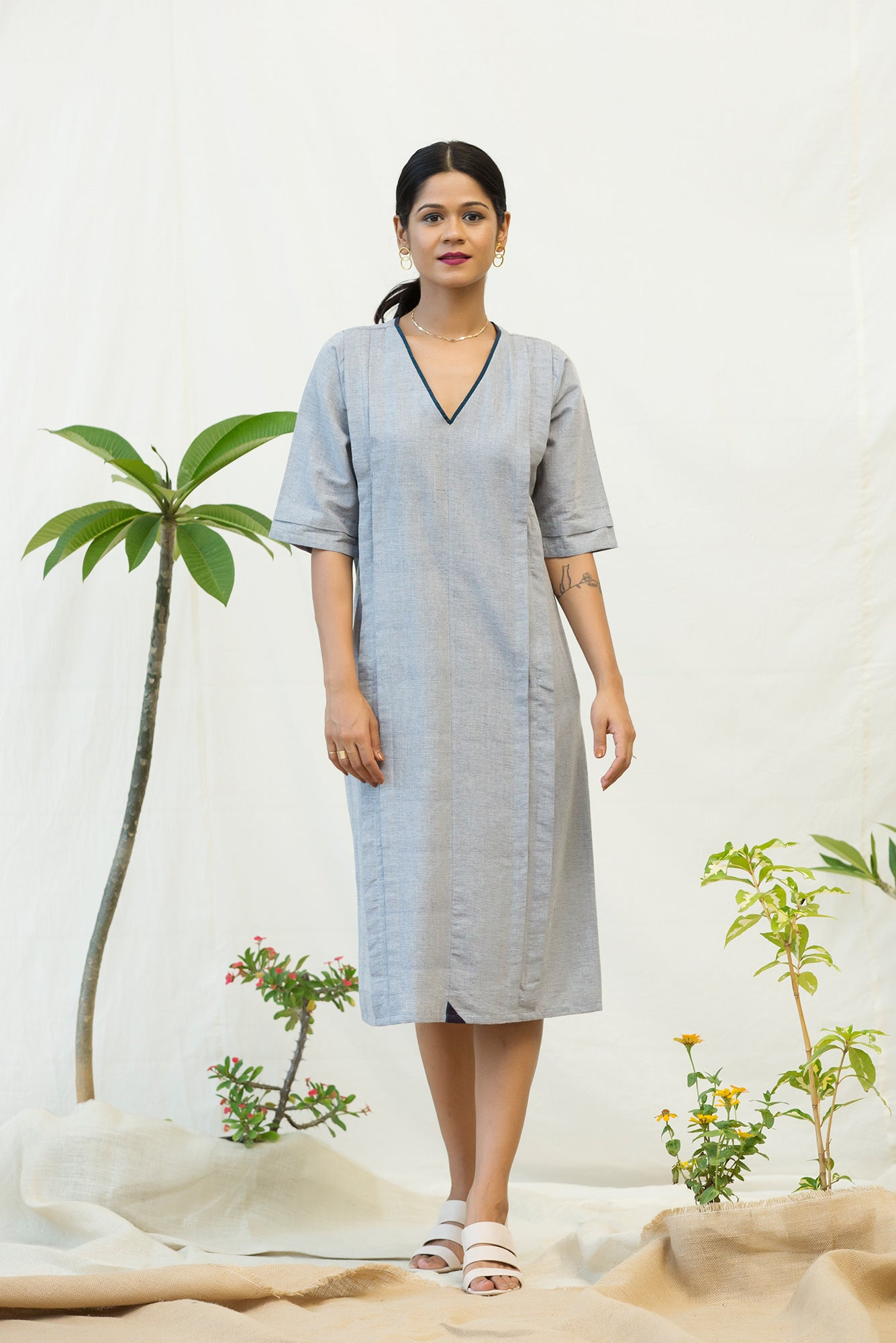 Clean Panel Tunic
