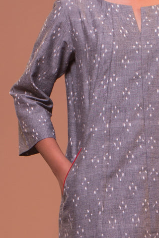 Long Seam Tunic (Grey)