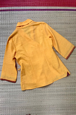 Khadi Wrap (Sunflower)