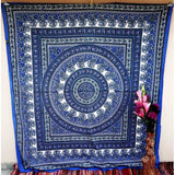Floral Hippie Mandala Tapestry Wall Hanging Decor Bedspread Beach blanket