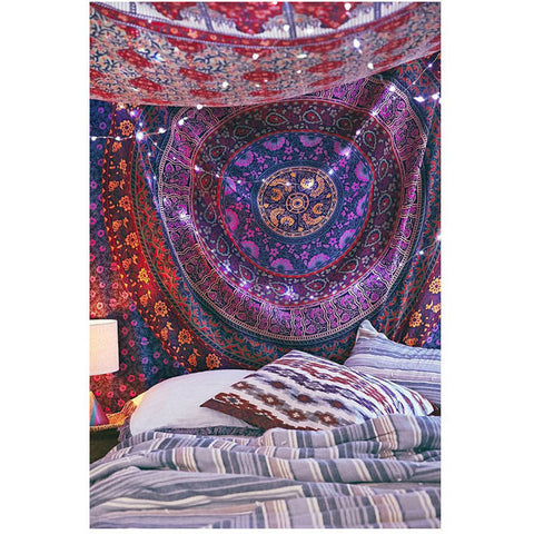 Amazing Multicolor Wall Hanging Tapestry Bedspread Wall Hanging - TheNanoDesigns