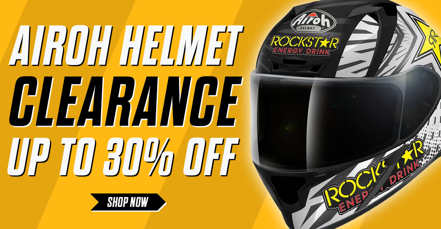 Airoh Helmet Clearance