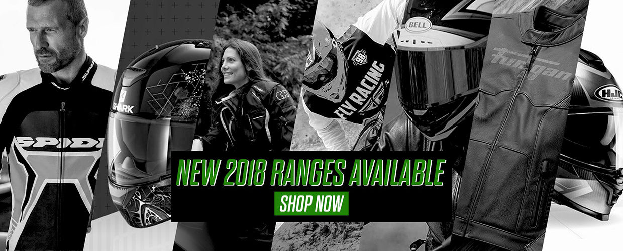 New 2018 Ranges Available Now!