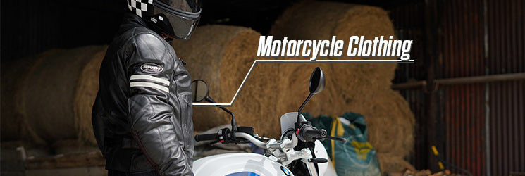 Leather & Textile Motorcycle Clothing from MSG Bike Gear