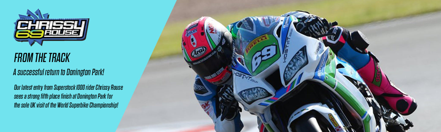 A solid return to Donington Park for Chrissy!
