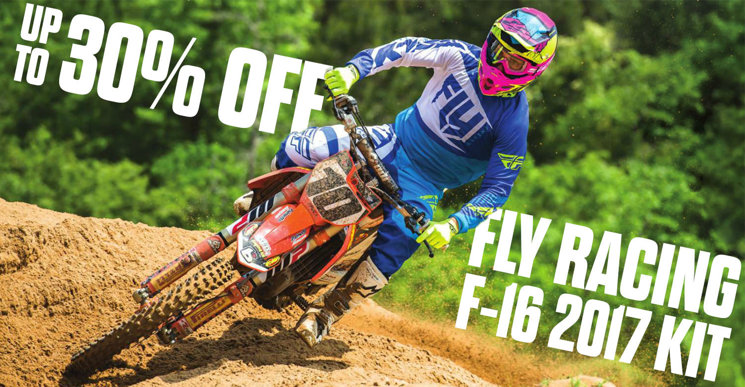 Save up to 30% on Fly Racing 2017 Kit