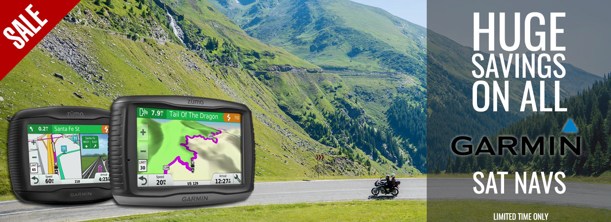 Huge savings on Garmin Sat Nav systems - limited time only!