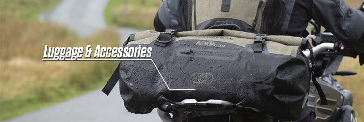 Motorcycle Luggage & Accessories from MSG Bike Gear