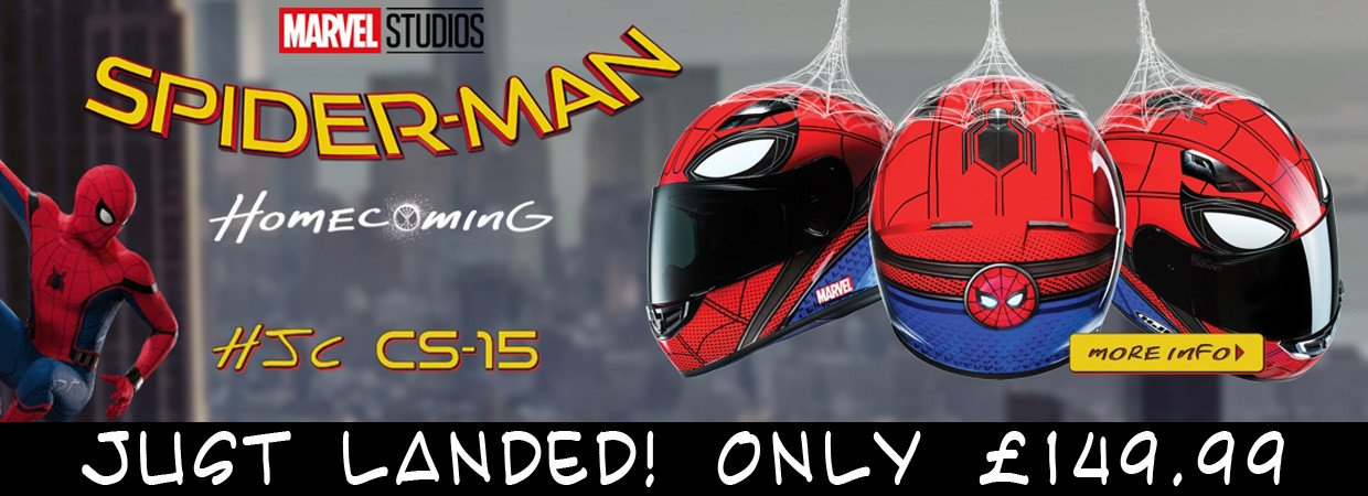 Spiderman Homecoming Helmets Now Available!