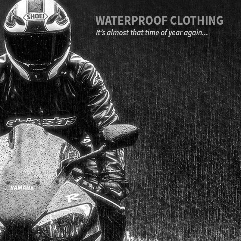 It's almost that time of year again - check out the range of Waterproof Clothing available now at MSG Bike Gear