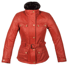 Spada Hartbury Motorcycle Motorbike Waterproof Textile Ladies Jacket - Rouge - Spada -  - MSG BIKE GEAR - 1