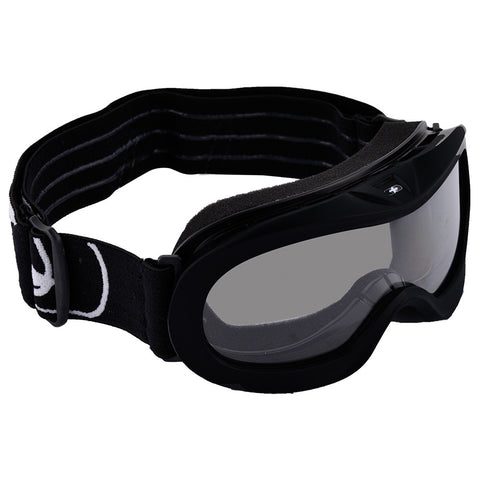 Oxford Fury Junior Youth Motocross MX Enduro ATV Goggles Gloss Black -Clear Lens - Oxford -  - MSG BIKE GEAR
