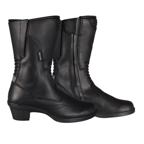 Oxford Valkyrie Ladies Waterproof Leather Motorcycle Boots With Heel - Oxford -  - MSG BIKE GEAR - 1