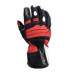 RST 2105 Jet City CE Approved Leather Gloves - Red