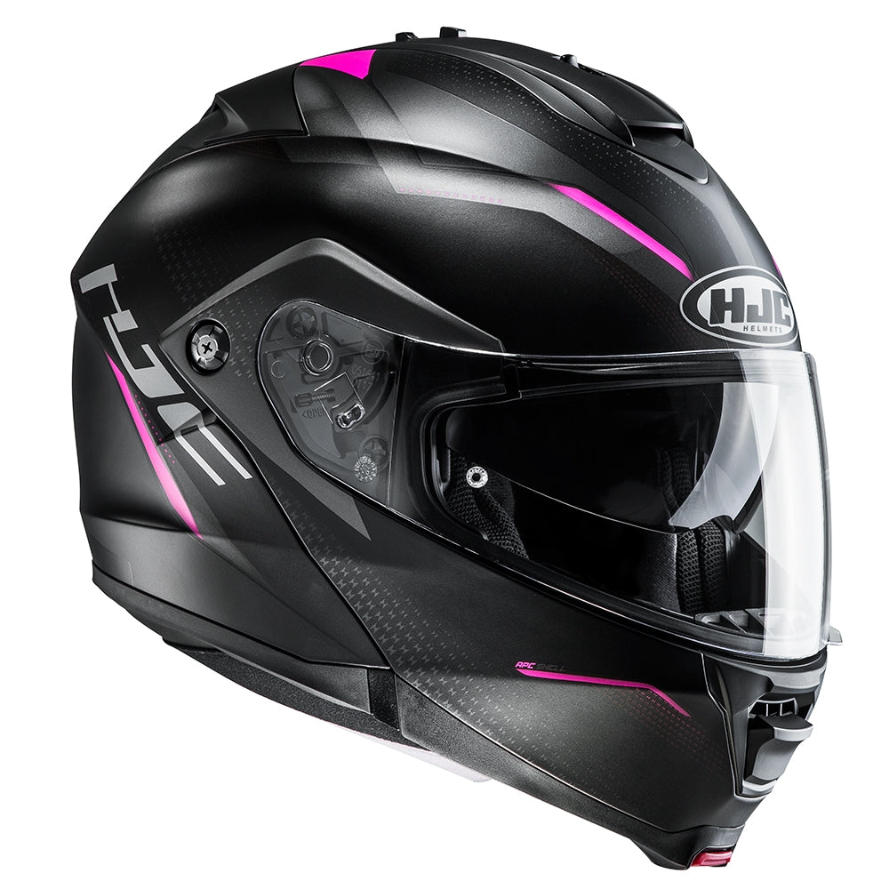 HJC IS-MAX 2 Dova Flip Front Helmet - Pink MC5SF