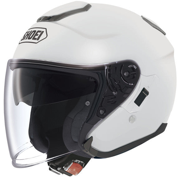 SHOEI J-CRUISE WHITE OPEN FACE MOTORCYLE HELMET - Shoei -  - MSG BIKE GEAR