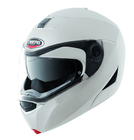 CABERG MODUS METAL WHITE OPEN FACE MOTORCYCLE HELMET - Caberg -  - MSG BIKE GEAR