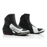 RST 2341 Tractech Evo III Short Leather Boots - Black / White