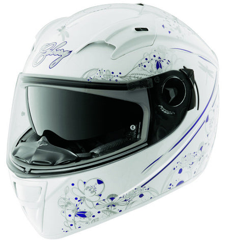 CABERG VOX ROMANTIK WHITE/MULTI FULL FACE MOTORCYCLE HELMET - Caberg -  - MSG BIKE GEAR