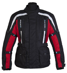SPADA CORE MOTORCYCLE MOTORBIKE TEXTILE JACKET BLACK/RED new - Spada -  - MSG BIKE GEAR