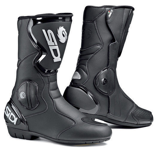 SIDI BLACK RAIN EVO MOTORCYCLE WATERPROOF BOOTS + FREE SOCKS - Sidi -  - MSG BIKE GEAR