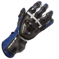 SPADA CURVE RACE SPORTS MOTORCYCLE MOTORBIKE LEATHER GLOVES BLUE - Spada -  - MSG BIKE GEAR